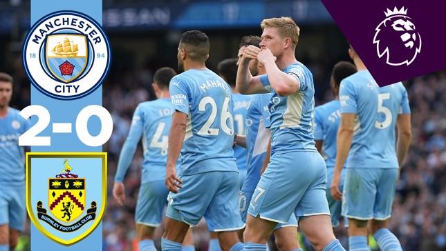City 2-0 Burnley: Highlights
