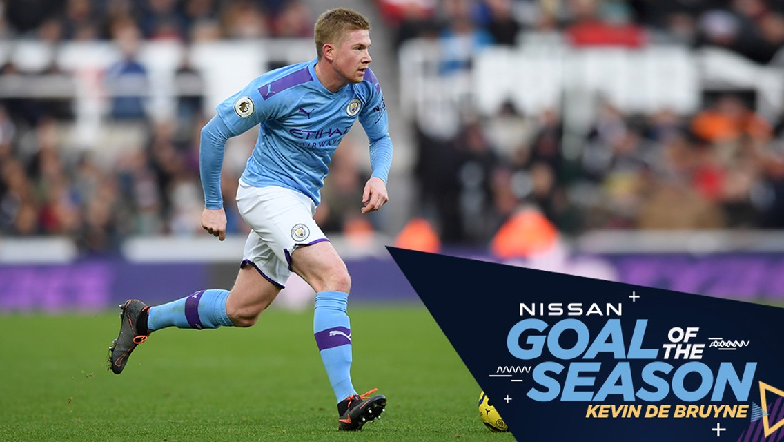 Le but de De Bruyne contre Newcastle élu but de la saison !
