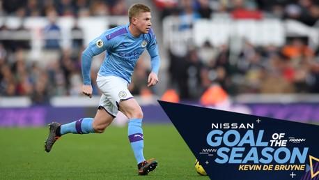 NISSAN 이번 시즌의 골, 뉴캐슬전에 나온 데 브라이너의 골!
