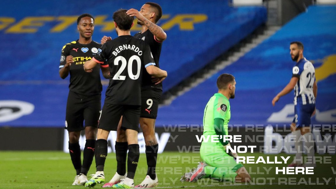 Brighton 0-5 City : Le résumé, version longue