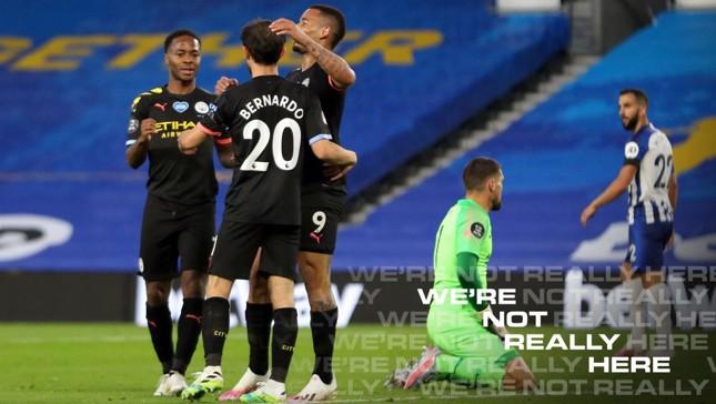 Brighton 0-5 City : Le résumé, version longue