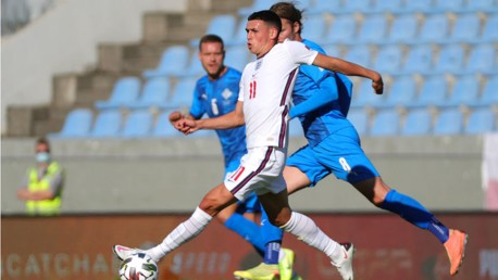 Foden makes England debut as Sterling downs Iceland