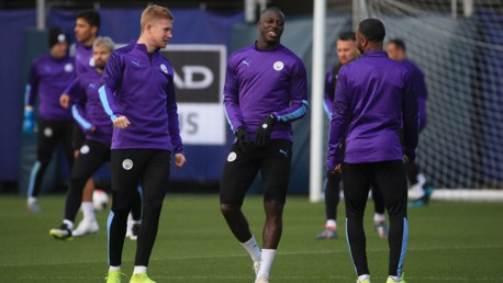 TEAM NEWS: De Bruyne and Mendy are back in the starting lineup for the trip to Palace.