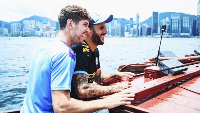 BOAT BUDDIES : Teammates on and off the pitch
