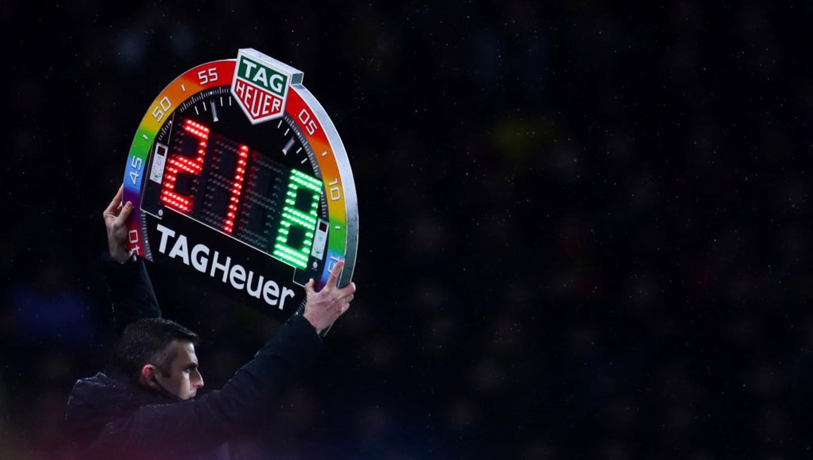 La Premier League annonce l'augmentation du nombre de remplaçants temporairement