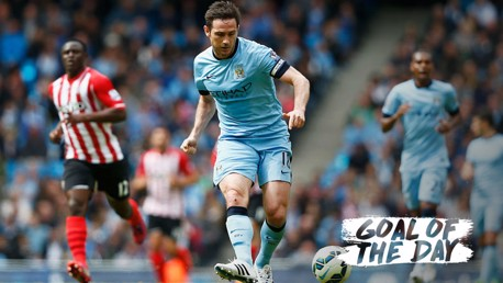 GOAL OF THE DAY: Watch Frank Lampard in action against Southampton back in 2015.