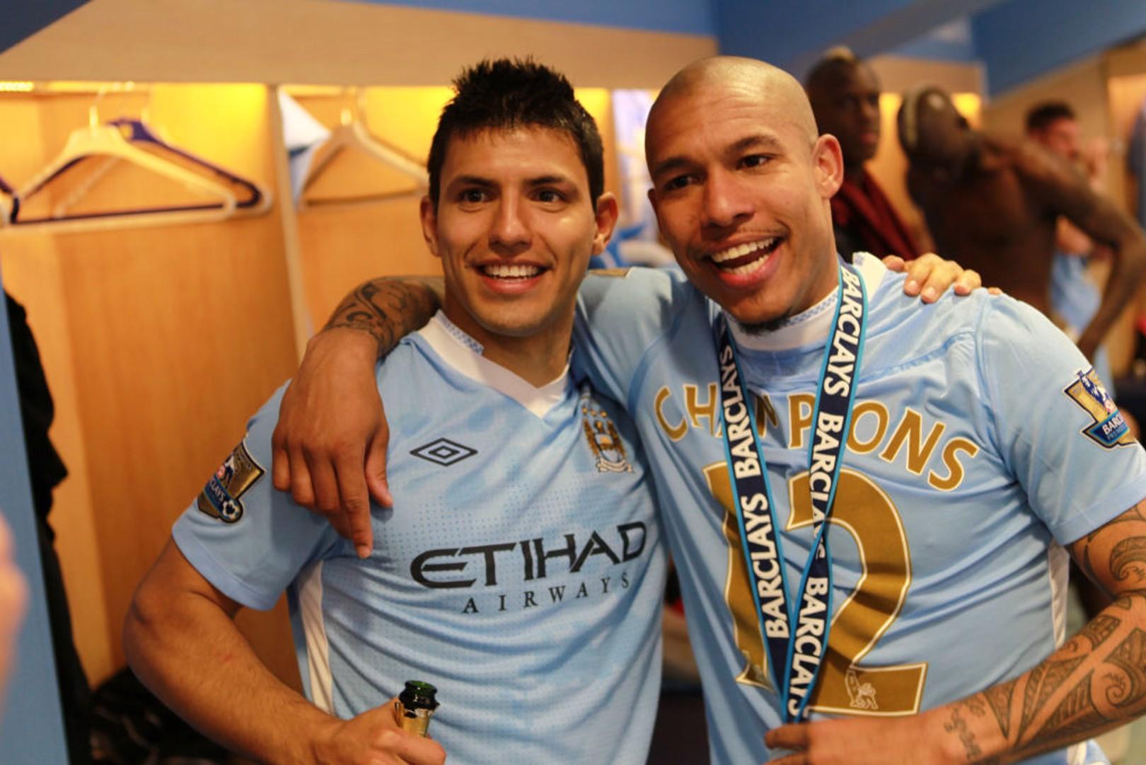 Nigel De Jong: How Sergio Aguero's reputation benefits team-mates