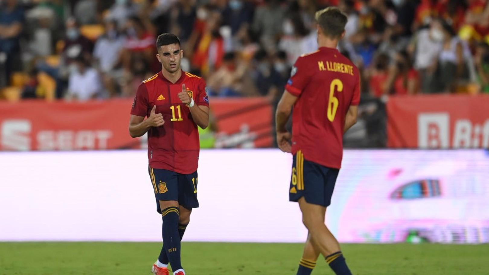 스페인 대표팀에서 득점에 성공한 토레스