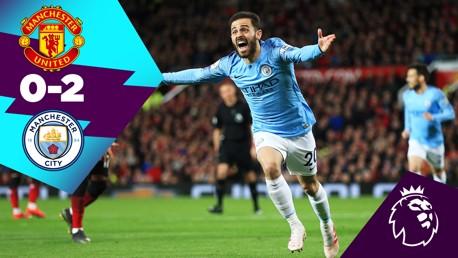 Cuplikan Klasik: United 0-2 City