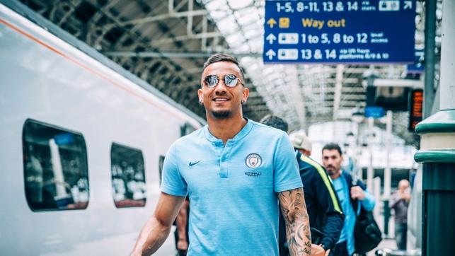 SLICK : Sunglasses on for Danilo.