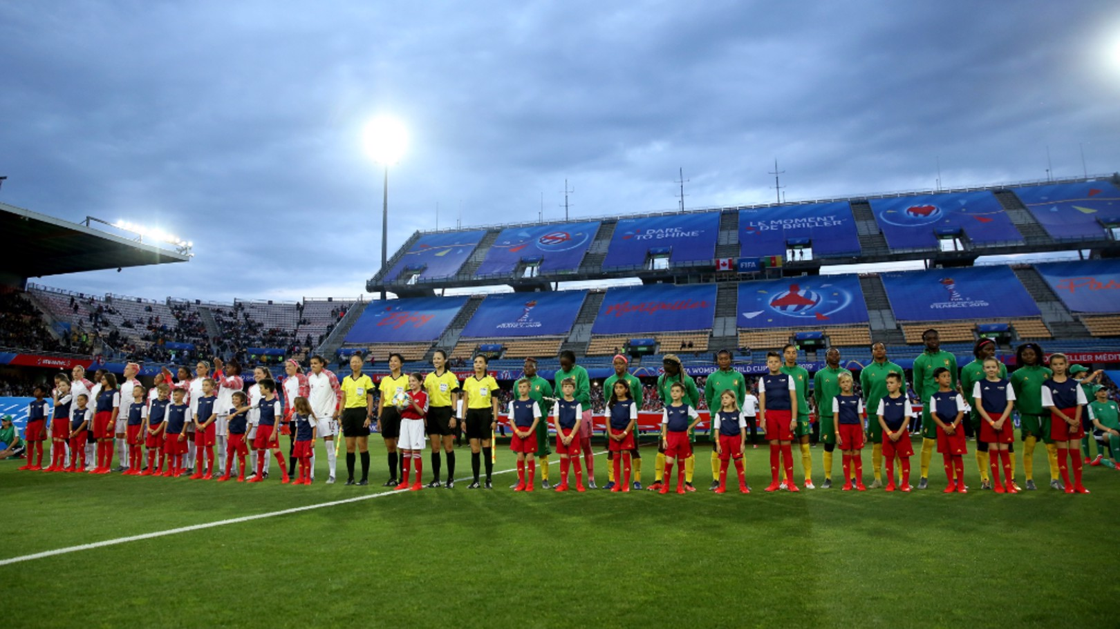 IMAGE OF THE DAY: Canada line up to face Cameroon