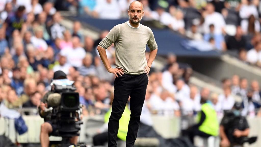 City piégé d'entrée par Tottenham