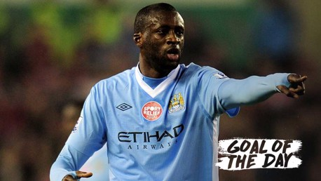 Goal of the Day: Yaya Toure v Stoke 2011/12