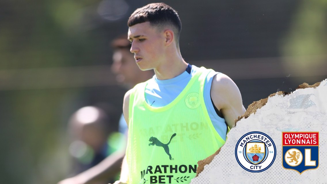 Skills from Foden as City prepare for Lyon
