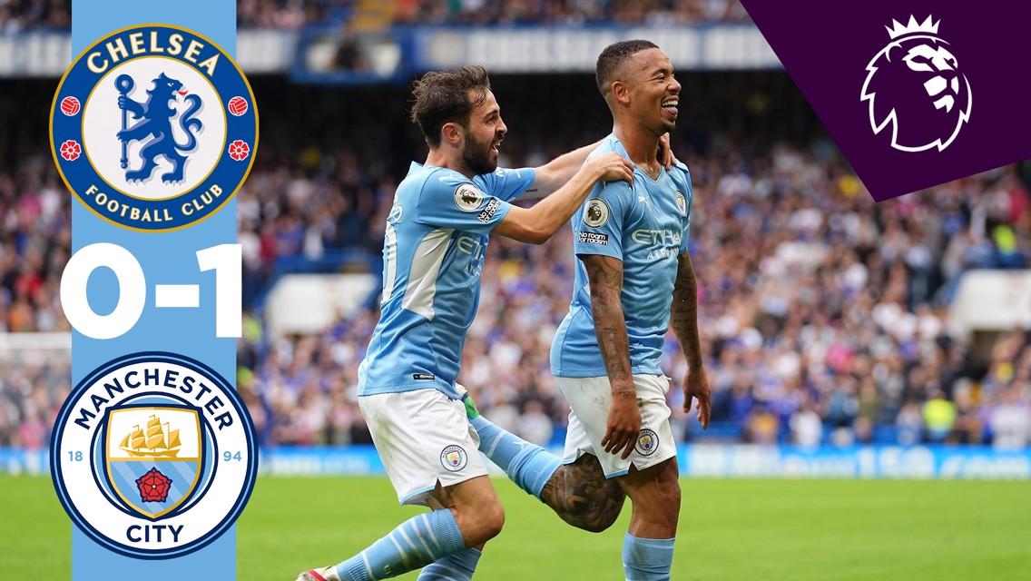 Chelsea 0-1 City: resumen breve