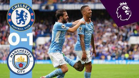 Highlights: Chelsea 0-1 City