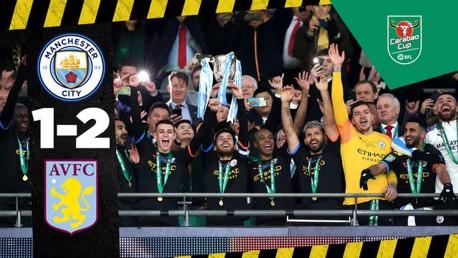 Villa 1-2 City : Le résumé de la finale