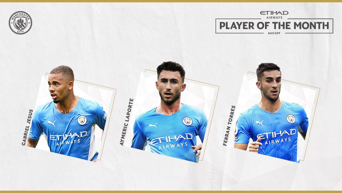 Etihad Player of the Month: August nominees