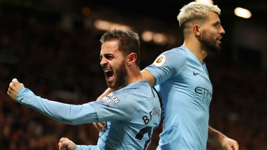 PRIDE GUY : Bernardo can't contain his delight after scoring