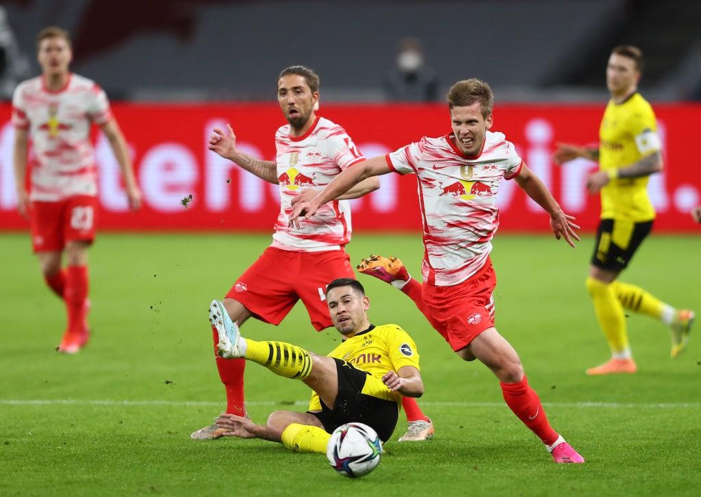 Dani Olmo. El catalán es una de las estrellas del RB Leipzig.