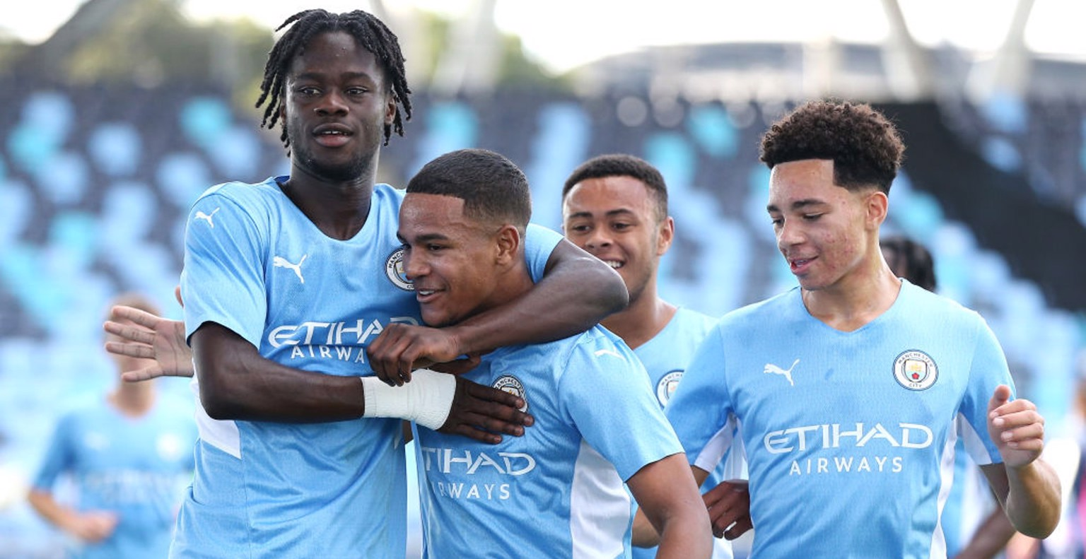 Five-star City open UEFA Youth League campaign in style