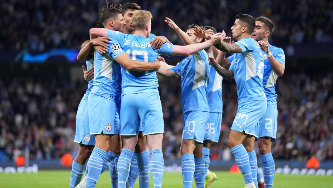 Which TV channel is Club Brugge v City on?