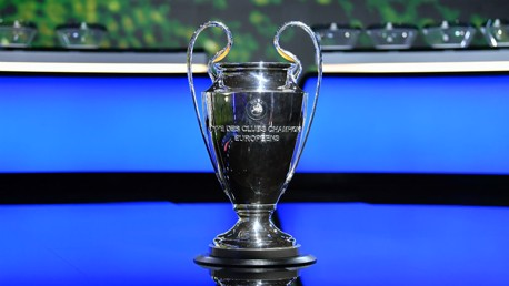 UEFA Champions League squad submitted