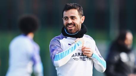BERNARDO: Every session has a Silva smiling...