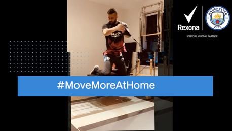 CITY와 Rexona가 함께 하는 #MOVEMOREATHOME