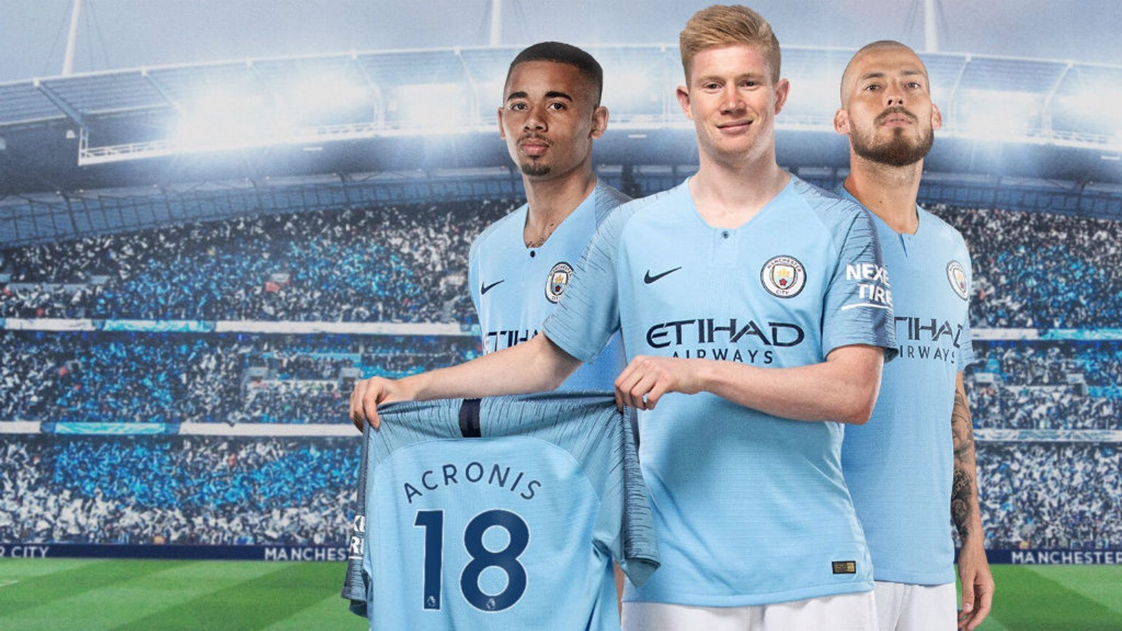 Man City secures global partnership with Acronis