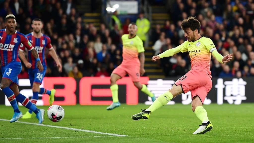 David Silva fez o segundo gol do City no jogo