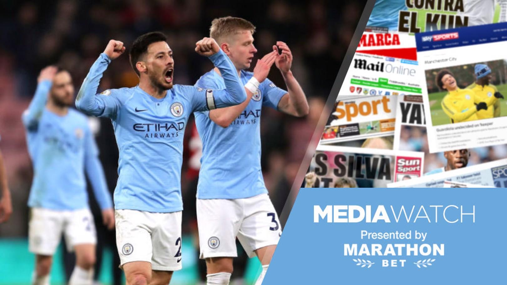 Media Watch: 'Advantage City in title race'