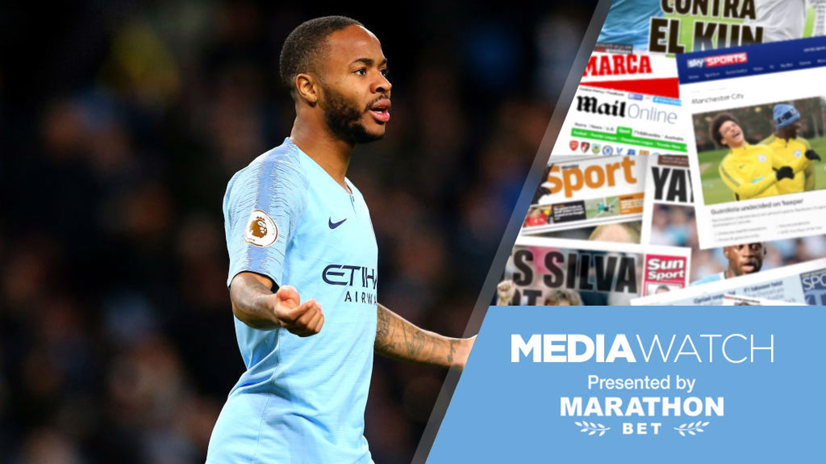 MEDIA WATCH: Sterling has been City's main man this season