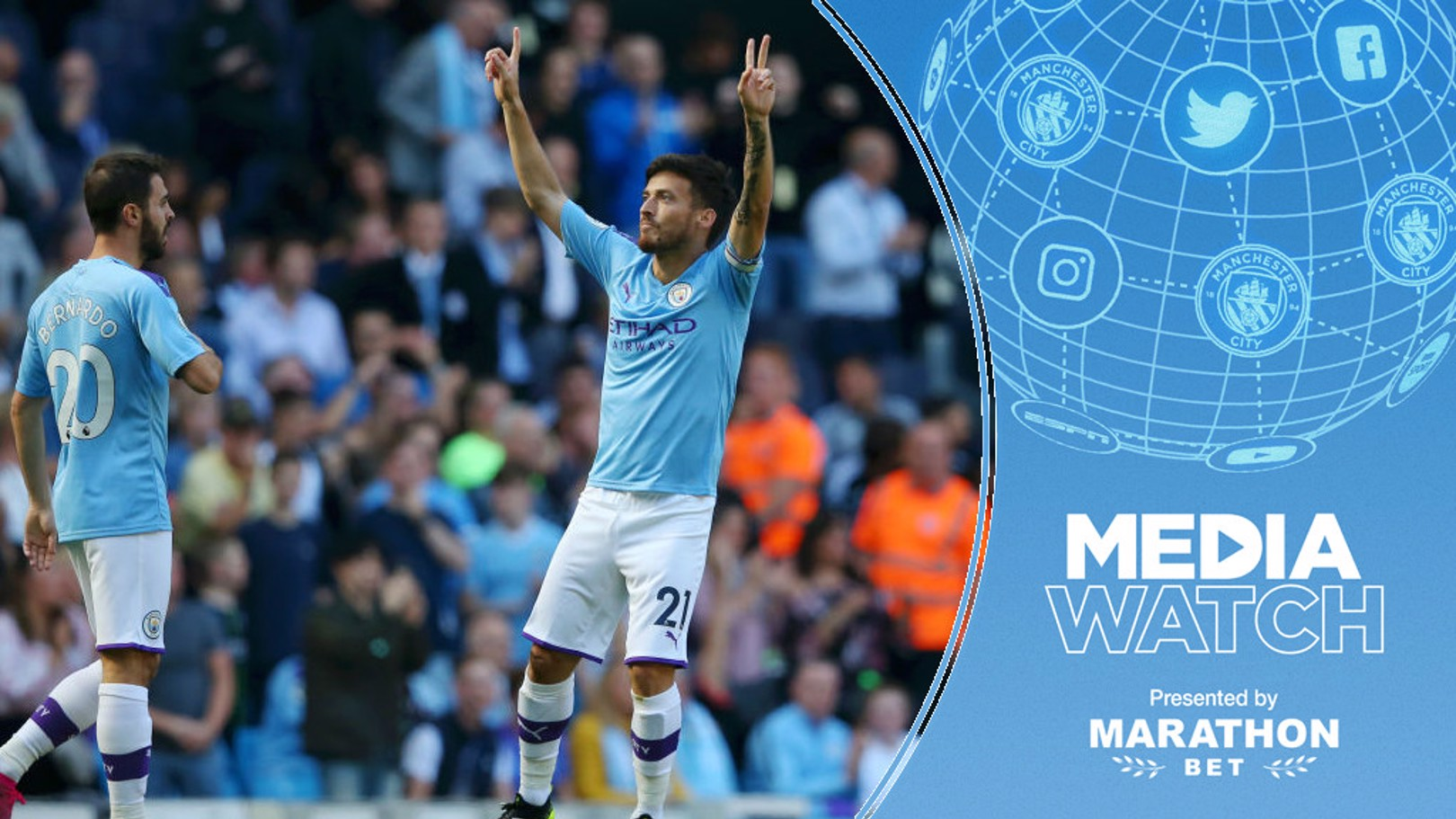 TOP DRAW: City's 8-0 win over Watford has received a glowing review in the media.