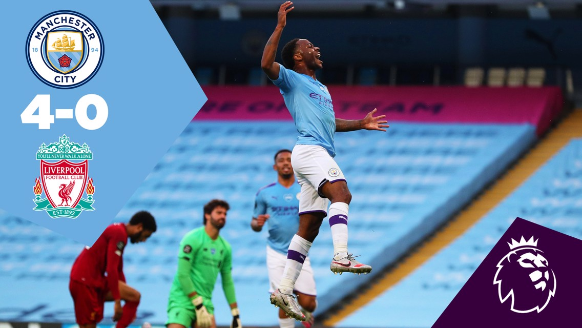 Full-match replay: City 4-0 Liverpool