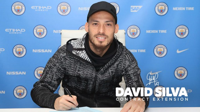2020 VISION : David has penned a new deal