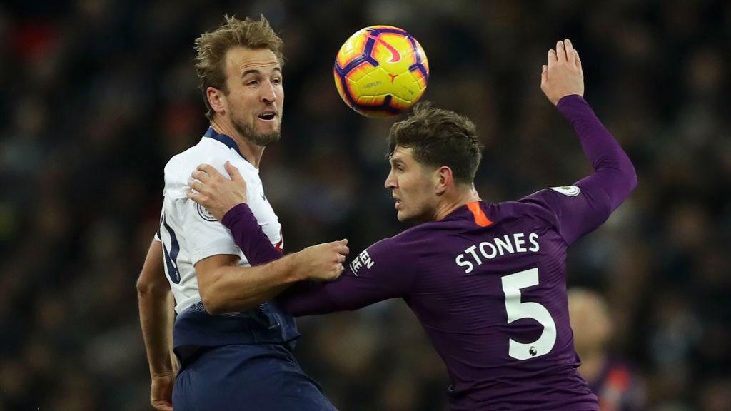 La zaga cityzen contuvo el ímpetu final del Tottenham.
