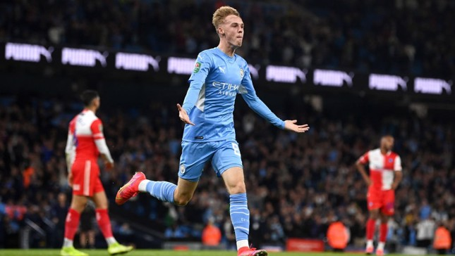 Palmer 'over the moon' with first City goal