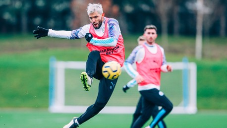 TRAINING: The best of the action from today's session at the CFA