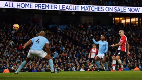 ALL SQUARE: Oriol Romeu draws Southampton level.