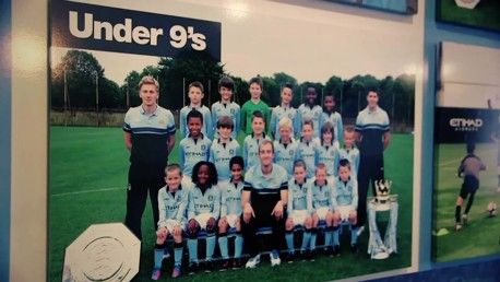 ONCE A BLUE: Nick Cushing managed several of City's emerging stars as youngsters