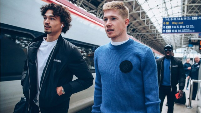 FINAL COUNTDOWN : Philippe Sandler and Kevin De Bruyne stride into the capital