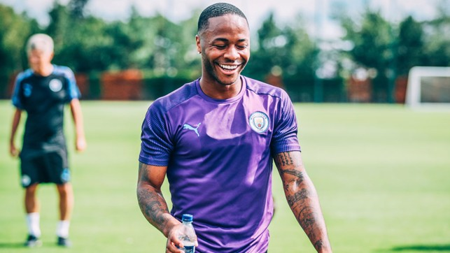 RAHEEM : Relaxed and rested - big season ahead for this young man