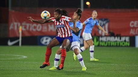 ATTACK v DEFENCE: Demi Stokes battles with Ludmila Da Silva