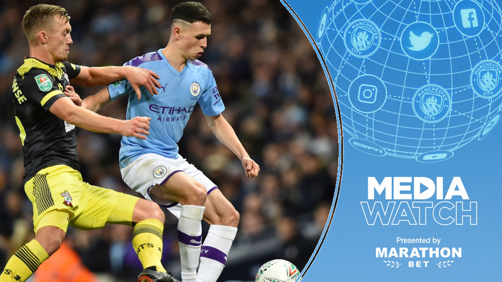 MEDIA WATCH: Phil Foden has been praised for his performance against Southampton.