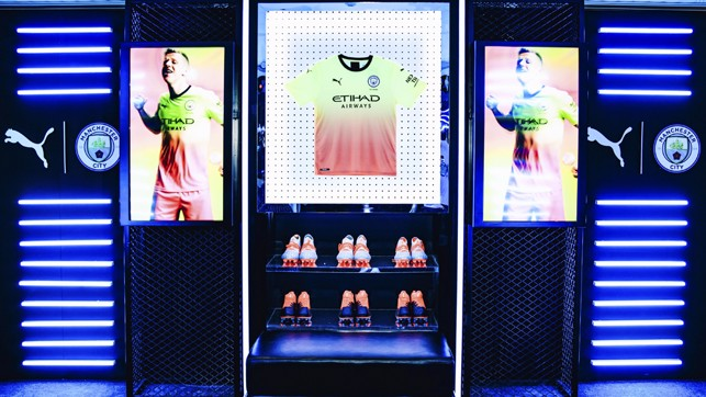 ALL ITS GLORY : The new PUMA gear looks superb in lights