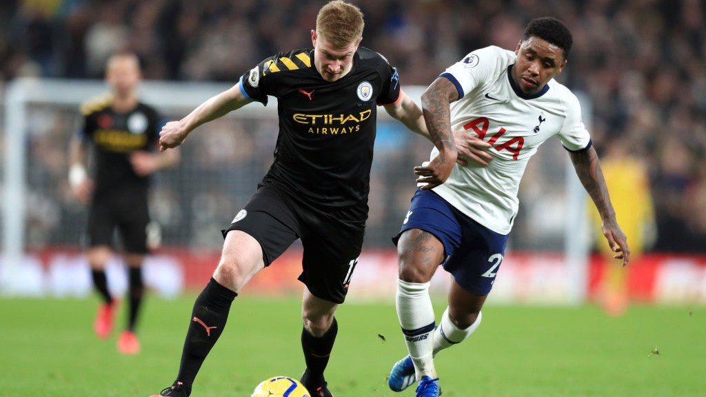 Ten-man City fall to Spurs defeat