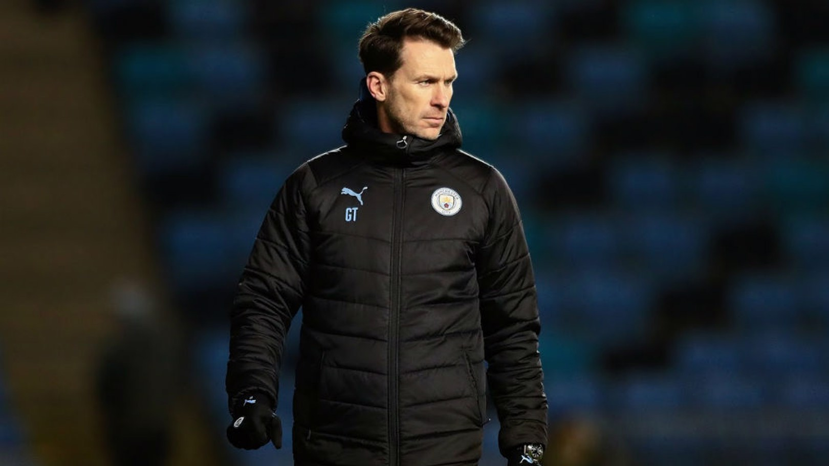 WATCHING BRIEF: Gareth Taylor looks on during City's FA Youth Cup win over Fulham