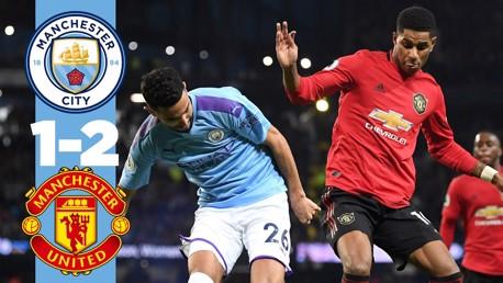 City 1-2 United: Full match replay