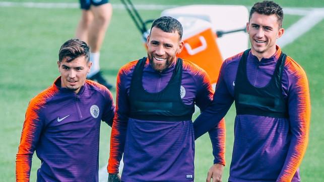 TRIO : Diaz, Otamendi and Laporte.